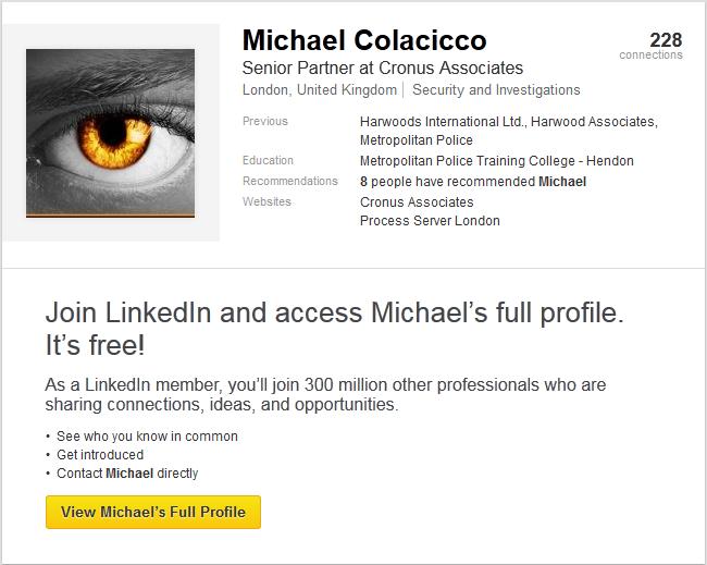 Michael Colacicco Linkedin